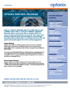 Optanix Partner Program
