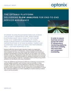 Optanix Flow Analysis Product Brief