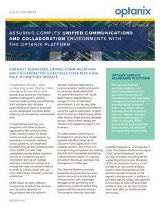 Unified Communications & Collaboration Solution Brief